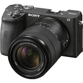 ソニー SONY ILCE-6600M ミラーレス一眼カメラ α6600 高倍率ズームレンズキット ブラック [ズームレンズ][ILCE6600M]