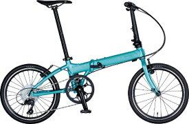 DAHON ダホン 20型 折りたたみ自転車 Vitesse D8 ヴィテッセ インターナショナルモデル フォールディングバイク(外装8段変速/ミントグリーン/アルミフレーム)【2019年モデル】 【代金引換配送不可】