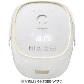 パナソニック Panasonic SR-KT069-W 炊飯器 ホワイト [3.5合 /IH][SRKT069W]