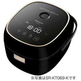 パナソニック Panasonic SR-KT069-K 炊飯器 ブラック [3.5合 /IH][SRKT069K]