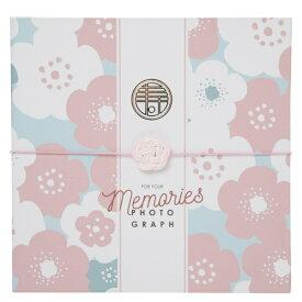 チクマ Chikuma 寿写真台紙V-700(寿) 6切2面 ピンク 15543-0 ピンク [タテヨコ兼用 /六切サイズ /2面]