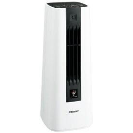 シャープ SHARP 電気ファンヒーター HX-JS1-W ホワイト系 [人感センサー付き][HXJS1 電気ストーブ プラズマクラスター 小型]