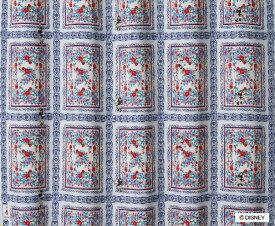 スミノエ SUMINOE ドレープカーテン ミッキー/ロイヤルガーデン(100×178cm)