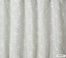 スミノエ SUMINOE レースカーテン ミッキー/アクセサリー(100×198cm/ホワイト)