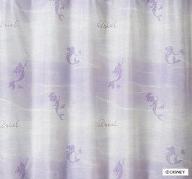 スミノエ SUMINOE レースカーテン プリンセス/アクア(100×133cm/パープル)