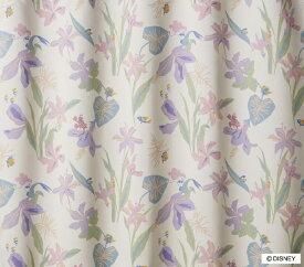スミノエ SUMINOE ドレープカーテン プリンセス/トロピカル(100×135cm/アイボリー)