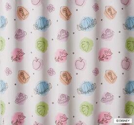 スミノエ SUMINOE ドレープカーテン プリンセス/プリンセスチャーム(100×200cm/ピンク)