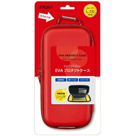 ナカバヤシ Nakabayashi Nintendo Switch Lite用EVAプロテクトケース レッド SZCSWL01R【Switch Lite】