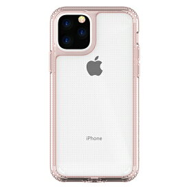 HAMEE ハミィ iPhone 11 Pro 5.8インチ PATCHWORKS LUMINA ケース 41-902455 クリア/ピンク