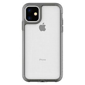 HAMEE ハミィ iPhone 11 6.1インチ PATCHWORKS LUMINA ケース 41-902660 クリア/クリアブラック