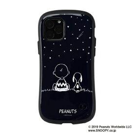 HAMEE ハミィ iPhone 11 Pro 5.8インチ PEANUTS/ピーナッツ iFace First Classケース 41-904350 スヌーピー&チャーリー・ブラウン/ネイビー