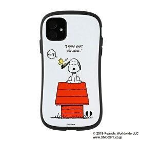HAMEE ハミィ iPhone 11 6.1インチ PEANUTS/ピーナッツ iFace First Classケース 41-904442 スヌーピー&ウッドストック/すべり台