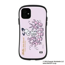 HAMEE ハミィ iPhone 11 6.1インチ PEANUTS/ピーナッツ iFace First Classケース 41-904466 スヌーピー&ウサギ