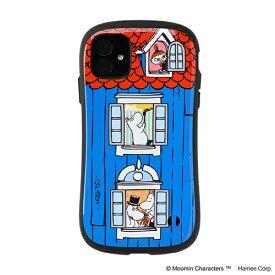 HAMEE ハミィ iPhone 11 6.1インチ ムーミンiFace First Classケース 41-9045-904664 ムーミンハウス/窓