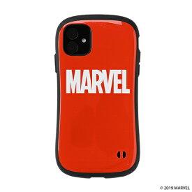 HAMEE ハミィ iPhone 11 6.1インチ MARVEL/マーベル iFace First Classケース 41-9041-904732 ロゴ/レッド