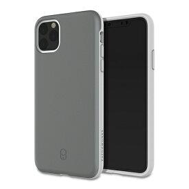HAMEE ハミィ iPhone 11 Pro Max 6.5インチ PATCHWORKS LEVEL ITG ケース 41-906354 グレー