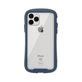 HAMEE ハミィ iPhone 11 Pro 5.8インチ iFace Reflection強化ガラスクリアケース 41-907320 ネイビー