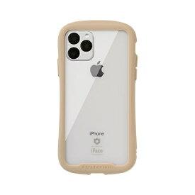 HAMEE ハミィ iPhone 11 Pro 5.8インチ iFace Reflection強化ガラスクリアケース 41-907344 ベージュ