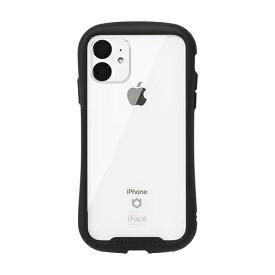 HAMEE ハミィ iPhone 11 6.1インチ iFace Reflection強化ガラスクリアケース 41-907351 ブラック
