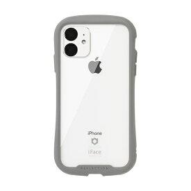 HAMEE ハミィ iPhone 11 6.1インチ iFace Reflection強化ガラスクリアケース 41-907368 グレー