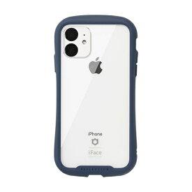 HAMEE ハミィ iPhone 11 6.1インチ iFace Reflection強化ガラスクリアケース 41-907375 ネイビー