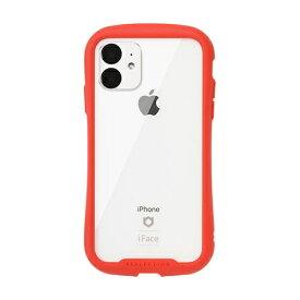 HAMEE ハミィ iPhone 11 6.1インチ iFace Reflection強化ガラスクリアケース 41-907382 レッド