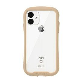 HAMEE ハミィ iPhone 11 6.1インチ iFace Reflection強化ガラスクリアケース 41-907399 ベージュ
