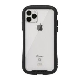 HAMEE ハミィ iPhone 11 Pro Max 6.5インチ iFace Reflection強化ガラスクリアケース 41-907405 ブラック