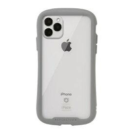 HAMEE ハミィ iPhone 11 Pro Max 6.5インチ iFace Reflection強化ガラスクリアケース 41-907412 グレー