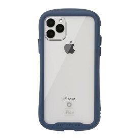 HAMEE ハミィ iPhone 11 Pro Max 6.5インチ iFace Reflection強化ガラスクリアケース 41-907429 ネイビー