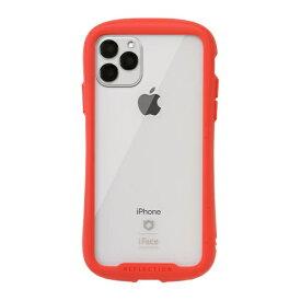 HAMEE ハミィ iPhone 11 Pro Max 6.5インチ iFace Reflection強化ガラスクリアケース 41-907436 レッド
