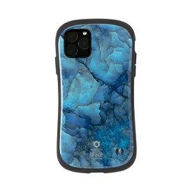 HAMEE ハミィ iPhone 11 Pro 5.8インチ iFace First Class Marbleケース 41-912133 ブルー