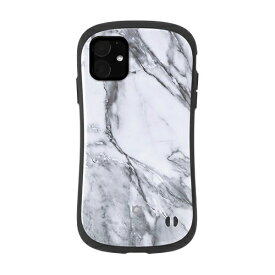 HAMEE ハミィ iPhone 11 6.1インチ iFace First Class Marbleケース 41-912188 ホワイト