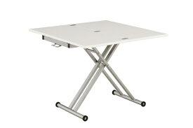 生毛工房 シグ90EX WH伸長式昇降テーブル
