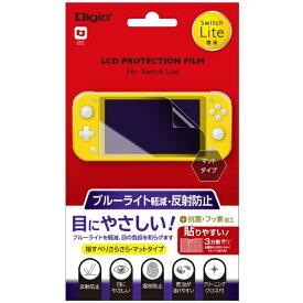 ナカバヤシ Nakabayashi Nintendo Switch Lite用液晶保護フィルム ブルーライトカット反射防止 GAFSWLFLGCBC【Switch Lite】