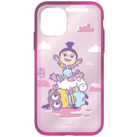 グルマンディーズ gourmandise 怪盗グルーシリーズ/ミニオンズ IIII fit Clear iPhone 11 Pro 5.8インチ 対応ケース アグネス MINI-173B