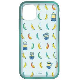 グルマンディーズ gourmandise 怪盗グルーシリーズ/ミニオンズ IIII fit Clear iPhone 11 6.1インチ/iPhoneXR 対応ケース バナナ MINI-177B