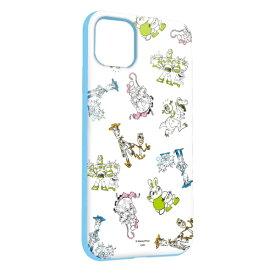 グルマンディーズ gourmandise ディズニーキャラクター iPhone 11 6.1インチ/iPhoneXR 対応ソフトケース トイ・ストーリー DN-654B