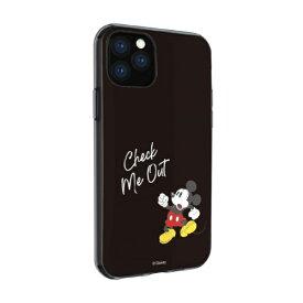 グルマンディーズ gourmandise ディズニーキャラクター IIII fit iPhone 11 6.1インチ/iPhoneXR 対応ケース ミッキーマウス DN-655A