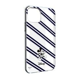 グルマンディーズ gourmandise ディズニーキャラクター IIII fit Clear iPhone 11 6.1インチ/iPhoneXR 対応ケース ミッキーマウス DN-656A