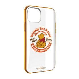 グルマンディーズ gourmandise ディズニーキャラクター IIII fit Clear iPhone 11 6.1インチ/iPhoneXR 対応ケース くまのプーさん DN-656B