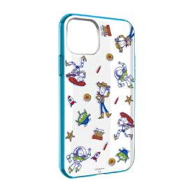 グルマンディーズ gourmandise ディズニーキャラクター IIII fit Clear iPhone 11 6.1インチ/iPhoneXR 対応ケース トイ・ストーリー DN-656C