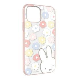 グルマンディーズ gourmandise ミッフィー IIII fit Clear iPhone 11 Pro 5.8インチ 対応ケース フラワー MF-83PK