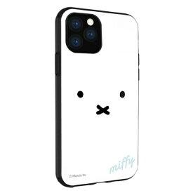 グルマンディーズ gourmandise ミッフィー IIII fit iPhone 11 6.1インチ/iPhoneXR 対応ケース フェイス MF-86WH