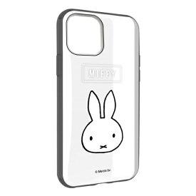 グルマンディーズ gourmandise ミッフィー IIII fit Clear iPhone 11 6.1インチ/iPhoneXR 対応ケース フェイス MF-87BK