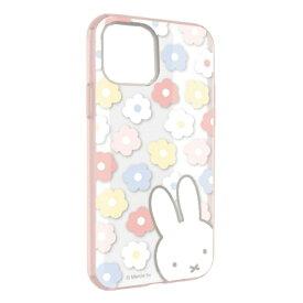 グルマンディーズ gourmandise ミッフィー IIII fit Clear iPhone 11 6.1インチ/iPhoneXR 対応ケース フラワー MF-87PK