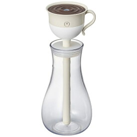 【2019年9月下旬】 ドウシシャ DOSHISHA KWU-053U-BG スティック型加湿器 ティーカップ ベージュ [超音波式 /420ml]