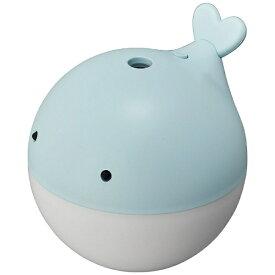 【2019年9月下旬】 ドウシシャ DOSHISHA KWU-054U-LBL 卓上型加湿器 くじら ライトブルー [超音波式 /150ml]