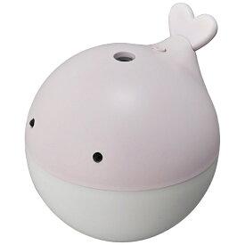 【2019年9月下旬】 ドウシシャ DOSHISHA KWU-054U-PK 卓上型加湿器 くじら ピンク [超音波式 /150ml]