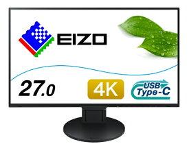 EIZO エイゾー EV2785-SFBK USB-C接続 PCモニター FlexScan(Surface専用仕様モデル) ブラック [27型 /ワイド /4K(3840×2160)][27インチ 液晶モニター EV2785SFBK]